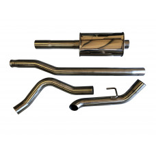 2020-2021 SPD Jeep 3.6L Gladiator 304SS Cat-back Exhaust
