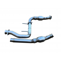 2015 - 2021 Ford F150 Coyote 5.0L Raptor 304SS Catted Downpipes
